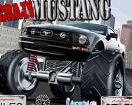 Crazy Mustang terepjáró autós online játék