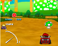 Mario kart flash game játék