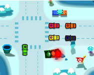 Mario world traffic játék