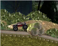 Monster truck jungle challenge online játék